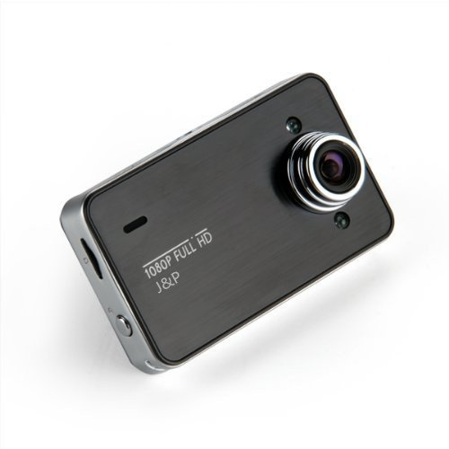 J&P 1920 x 1080P Vehicle Car Dashboard IR HD DVR Camera Video Recorder 2.7″ Color LCD (1080p with 32g card)