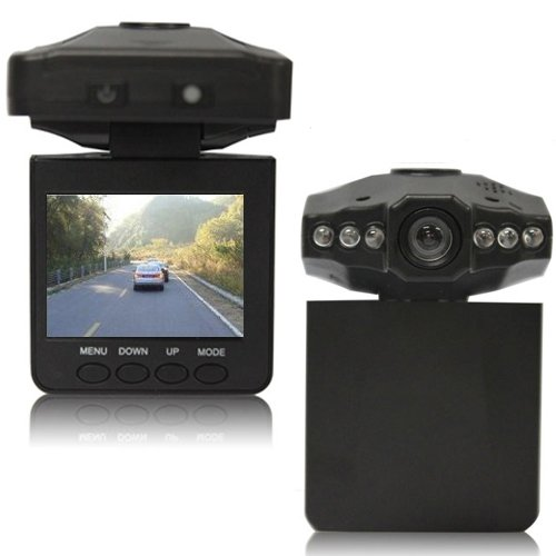 Boriyuan NIGHT VISION CCTV IN CAR DVR ACCIDENT CAMERA Video Recorder With 6 LED
