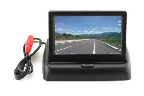 4.3″ Digital Color TFT LCD Mini Car Monitor Folded Security Camera Front Or Rear