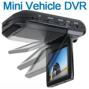 Cool New Gadget In-Car Mounting Mini HD DVR VCR In Car Camera recorder 1280 x 720 Black Box with 2.5″ TFT Colour screen Car Dashboard Video Camera Cam Accident Recorder support MMC/SD Card Car Recorder – 12 Month Warranty