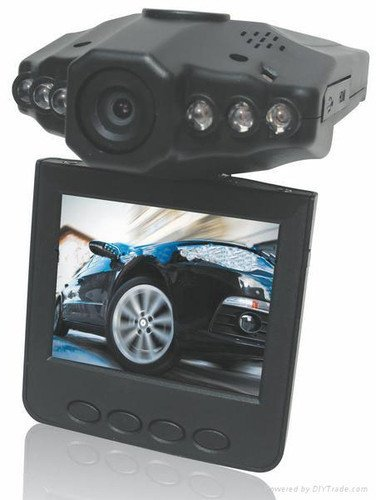 HD 2.5″ LCD 1280P NIGHT VISION CCTV IN-CAR DVR ACCIDENT VIDEO PROOF CAMERA Video Recorder,High Speed Recording 6 IR LEDs Night Vision CCTV