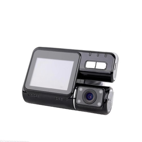 720P Car DVR Vehicle Dual Camera Video Recorder