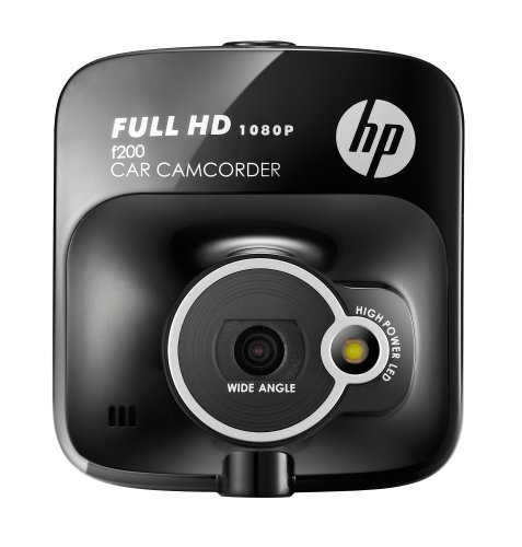 HP F-200 Car Cam and Camcorder 2-Inch Screen Full 1080p HD Outstanding Video Performance