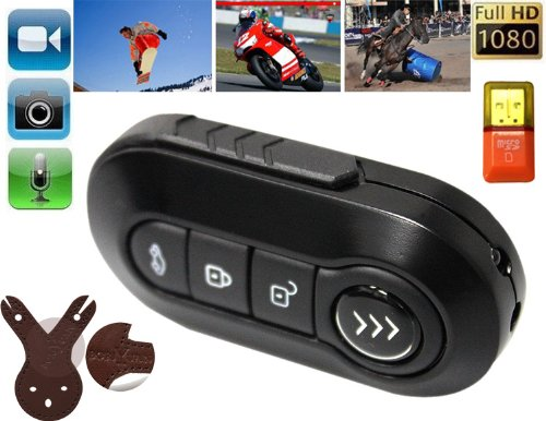 Mini Spy Hidden Camcorder Night Vision Thumb DV Camera Recorder