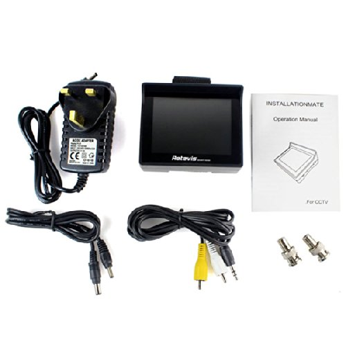 3.5'' Color TFT Car Wrist Monitor Support 960 x 240 Resolution