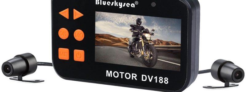 Blueskysea DV188 Motorcycle Recording Camera 1080p With130 Degree Angle Night Vision