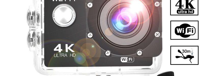 Action Camera WeyTy X6S 4K 30m Underwater Camera 16MP Wifi Sport Camera