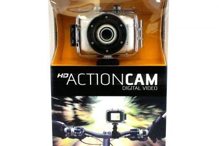 4-in-1 Waterproof 12MP 1080P Full HD Dashcam