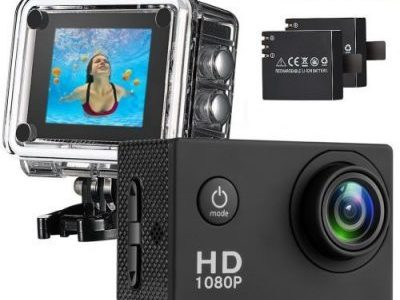 Waterproof Sport Camera Full HD 1080P 2.0 Inch LCD Display
