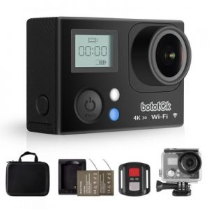 HD 4K Action Camera, Bototek Waterproof SONY Sensor Sport recorder 16MP Sports Diving Cam