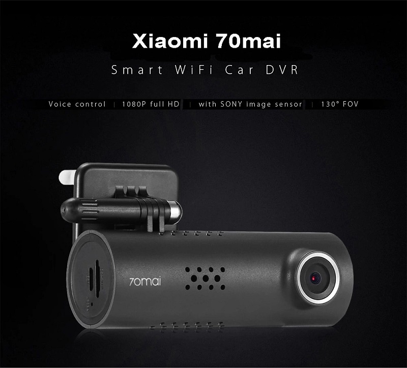 Xiaomi 70mai Dash Cam Smart WiFi Car DVR International Version